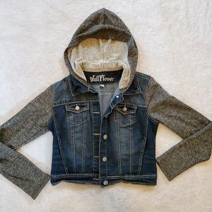 Jean Jacket & Sweatshirt Combo